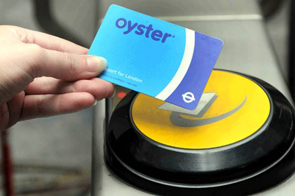 Städtereise London Oyster Card